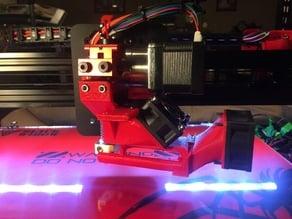 E3DV6 Hot end and Filament cooler combo