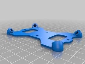 Modified Omnimac 3DR Pixhawk Anti Vibration Mount For DJI F450 (originally by GuyMcCaldin)