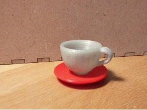 Saucer for Makies Tea Set