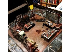 28mm Scale Machine Shop