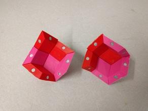 Rhombic Dodecahedron Magnetic Tile