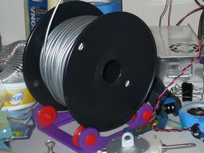 Boltless spool holder