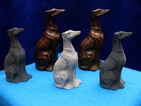 Greyhound Bookends