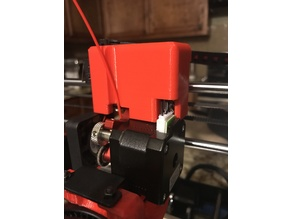 Wire Cover/cable shroud for Wanhao Duplicator i3/ Maker select V2  (Flexion Extruder capable)