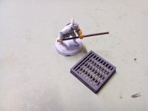 Scifi floor tiles - Barred Grills