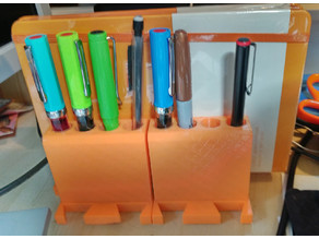 Connectable Pen/Notebook Holder