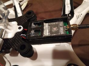 *Modified* FAT SHARK Video Transmitter Mount for DJI PHANTOM - FPV / UAV