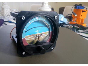 Attitude Indicator for Flight Simulator