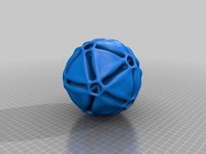 Floral Icosahedron