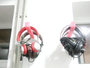 Wall Headphones Holder