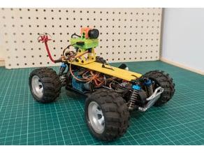 WlToys A979 DIY pan/tilt FPV mount (for headtracker)