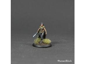 Ranger girl with sword