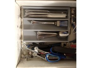 Simple Silverware Tray