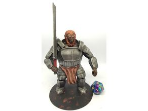Fire Giant for 28mm Tabletop Roleplaying