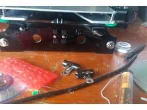 Tronxy P802MA Y carriage plate