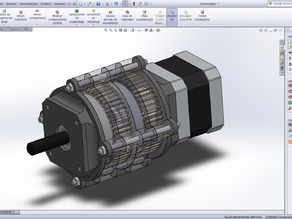 Epicyclic gearbox 25:1
