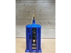 Tardis for Homematic with Raspberry PI and Wall holder ( Dr.Who )