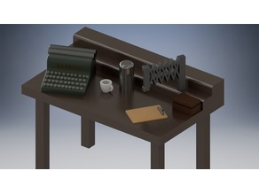 HO Scale Interior Furniture - Down By the Station
