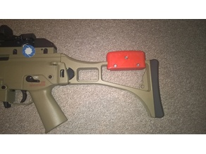 pad/cheek rest for  airsoft G36c (still foldable)