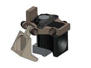 FLSun Delta Effector for E3D V6