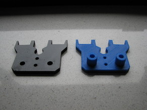 CTC 3D Printer Dual  - MK8 extruder top plate