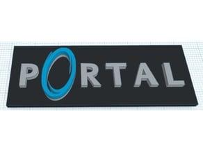 Portal Logo / Sign (Color Raised)