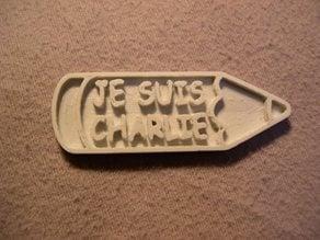 Crayon Je Suis CHARLIE