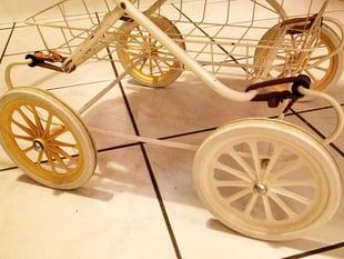doll's pram wheel