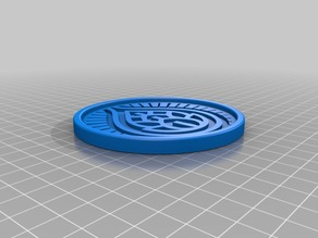 Sixpoint Brewery Resin Coaster