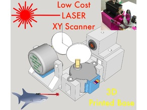Laser XY Scanner