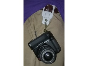 Quick release camera clip/holster (work in progress)