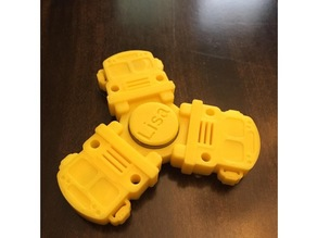 School Bus Fidget Spinner - Wingnut2k