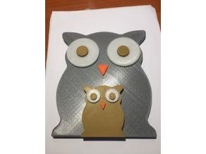Modular Owl Magnetic
