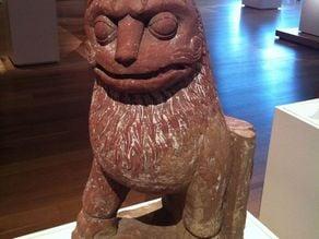 Lion, c. 2nd century India Uttar Pradesh, Mathura region