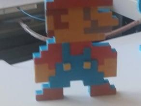 Mario 8 Bit Embossed Details