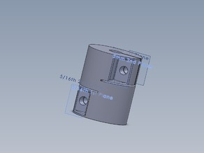 5/16th to 5mm Coupler