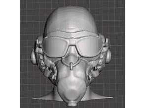 USAAF Pilot Head (with Mask)