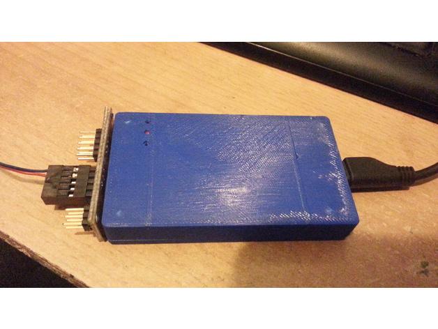 Enclosure ( box ) for ATMEL programmer ATATMEL ICE PCBA