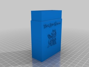 rick and morty card box v2