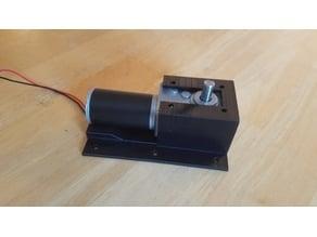 Motor Mount for 12v Worm Gear Motor