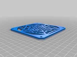 120mm Fan Grill - Spider and Web