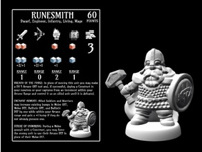 Runesmith (18mm scale)