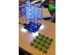 4x4x4 LED Jig - 14mm Separation - Hobby Components