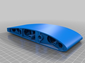 1133mm Clark-y airfoil wing (similar to 3dlabprint)