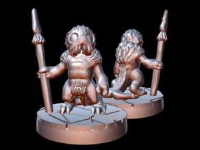 Zoog Warrior (15mm scale)