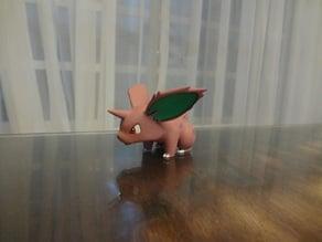 Nidoran M Pokemon EDLI3D