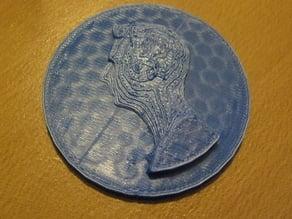 Bre Pettis OpenSCAD Medal