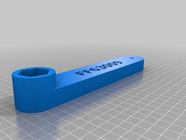Fleetguard FF63009 Fuel Filter Wrench by chuggs - ThingiverseThingiverse