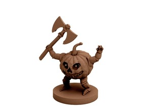 Pumpkin Warrior (18mm scale)
