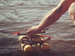 Quadcopter Floating/Aqua Landing Gear for MHQ2 HovershipQuad